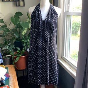Talbots polka dot halter top dress.